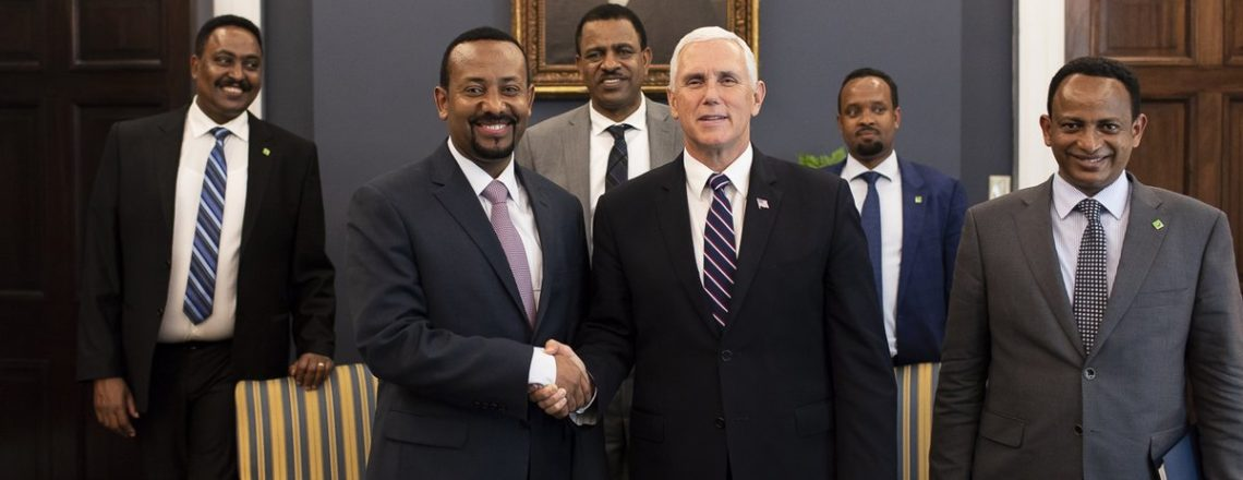 Readout of the Vice President's Meeting with Ethiopian Prime Minister Dr. Abiy Ahmed