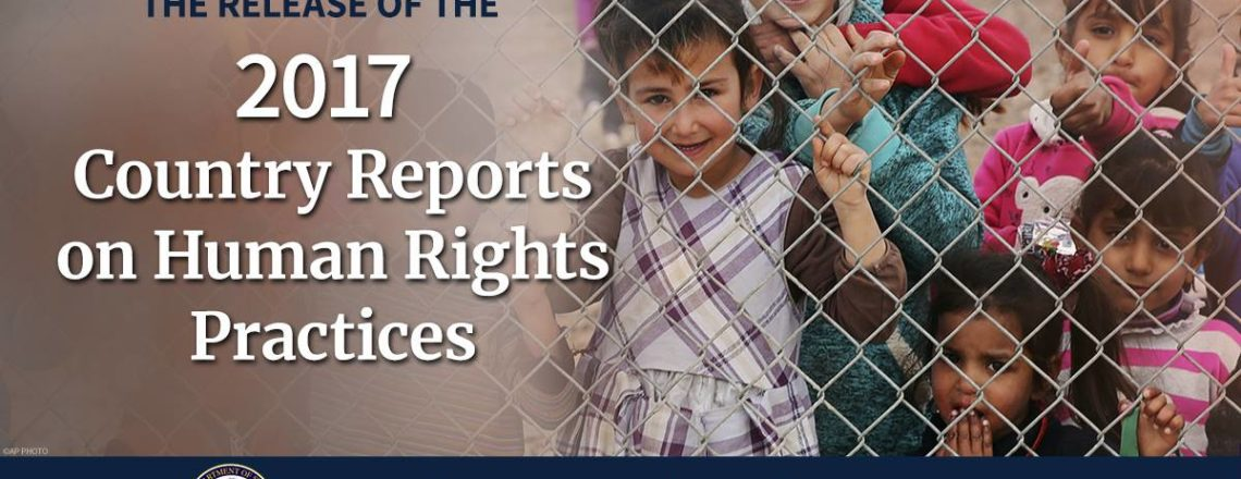 Release of the 2017 Human Rights Report for Ethiopia