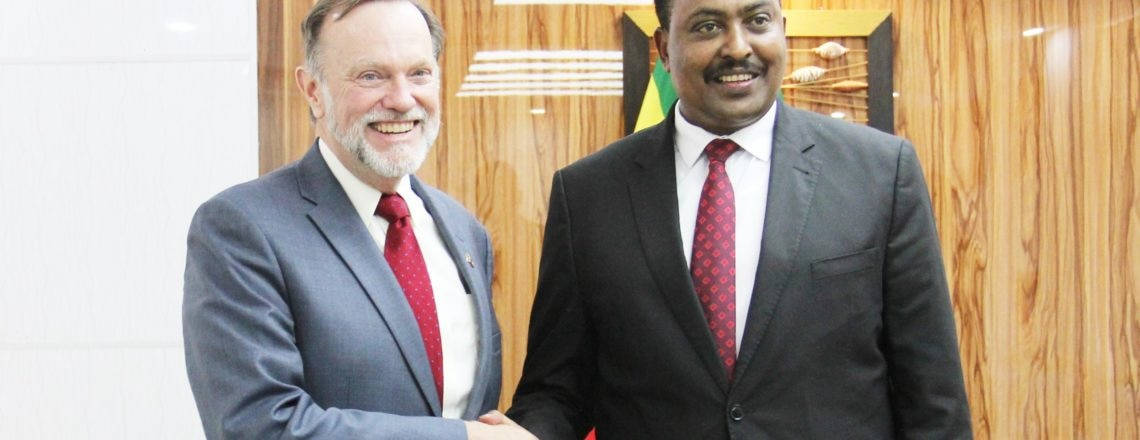 Assistant Secretary Tibor Nagy Meets with Ethiopian Foreign Minister Workneh Gebeyehu